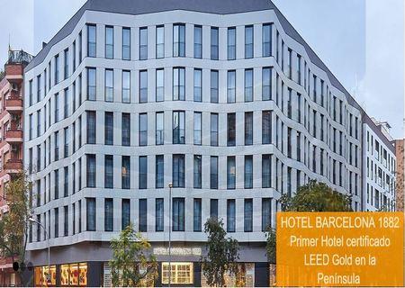 Jornada Hotel Barcelona 1882 Plan REIH - Certificación LEED