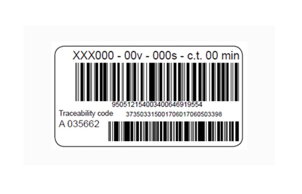 Accesorios ELOFIT etiquetas de control