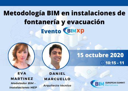 Jornada BIM Xp: BIM en instalaciones de fontanería y evacuación