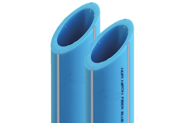 Tubería NIRON de polipropileno Fiber Blue PP-R RP