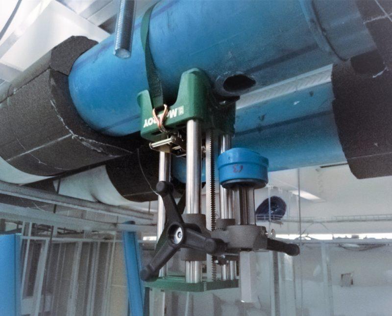 Máquina termofusión derivaciones HORNET herramienta fusión de salidas