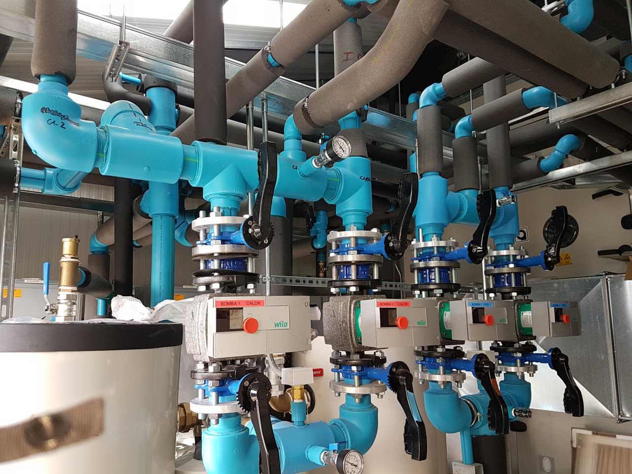 Instalacion hidráulica