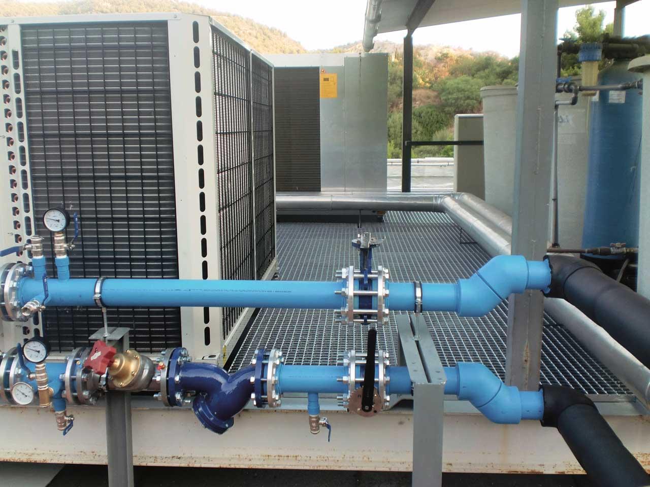 Instalacion climatización tuberia polipropileno NIRON