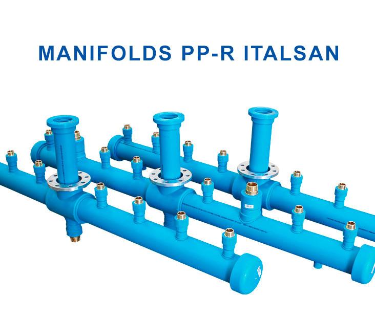 Colectores en polipropileno PP-R Italsan