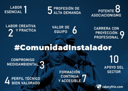 Campaña #ComunidadInstalador